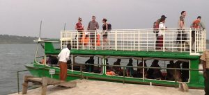 kazinga channel boatcruise